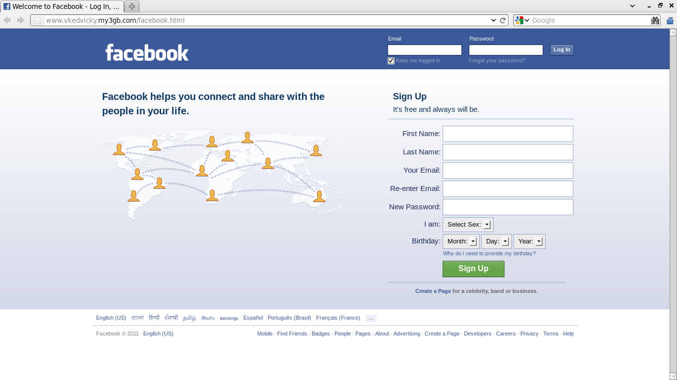 how to start a personal facebook page